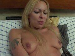 Tamara teaches how to do anal to 20 years old nephew
