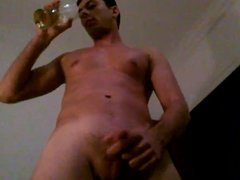 A fine glass of Piss with Cum