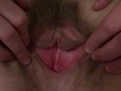 Hairy pussy play 4