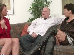 German MILF Show Couple to Fuck Good in Threesome
