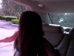 Mila Marx-Uberwhores ride to the Airport