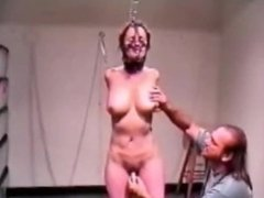 Bondage Scene from my BDSM room in 2002