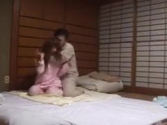 Sexy Japanese fucks Husband and Father in Law