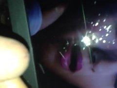 Spitting on the hot Tamil actress Trisha face