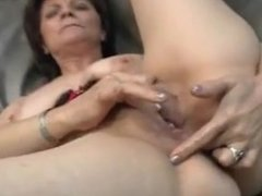 mature lady loves to finger