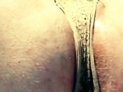 Pissing my Lace Panties