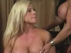Female bodybuilder lesbian domination