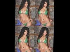 Michelle Kassandra Hardens Cocks Tiny Bikini