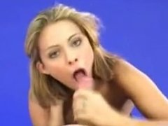 French pornstar Clara Morgane suck a fan