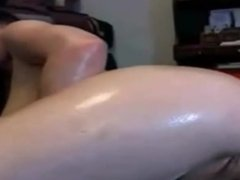 sweet girlfriend entertaining on webcam