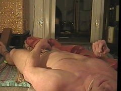 Cumming while lying on my back