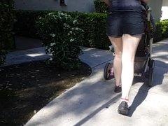 Nice legs on a white girl