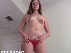 Let me give you a handjob in my sexy little thong JOI
