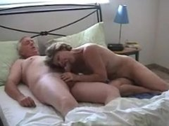 Hot Granny sucks grandpas dick. She still loves to have sex.