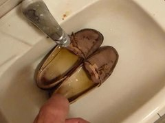 Piss in wifes well used flats