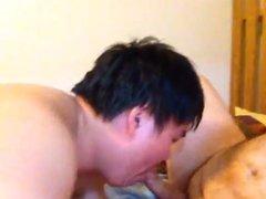 Asian Chub verbally abusive bj
