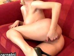 Interraced.com Hot blonde maid fucks a black stud