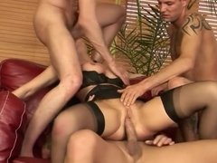 3 Guys with Big Cocks for a DP by Rambo