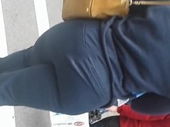 Tall Thick Black BBW Big Booty In All Blue