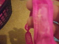 Wife's dirty panties