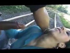 poor indian girl depthroat used