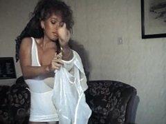 WHAT IS LOVE? - vintage 80's big boobs strip dance