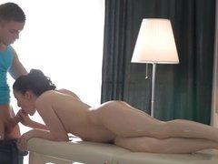 Hot Bailey Massage Gets Ass Fucked