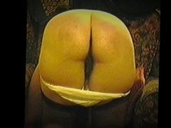 Spankybum wife kneeling and getting spanked