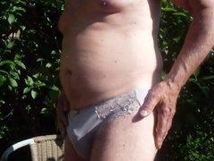 Panties in the sun