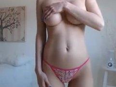 Big boobs tits big dark nipples shaved pussy cameltoe