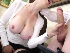 [My Milf Boss] Beautiful MILF McKenzie Lee Seduced By Her Employee