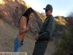 Black cop arrest white teen Cute latin