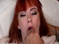 Slave gagged dildo Permission To Cum