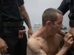 Gay cop in sheer socks naughty cops Two