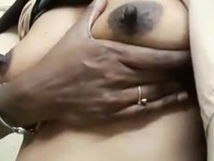tamil girl paying with tits