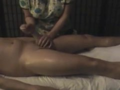 handjob on huge cock