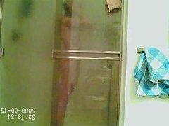 Shower hidden cam