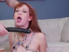 Fucking machines squirt bondage orgasm