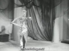 Amazing Blonde Dancing and Undressing (1950s Vintage)