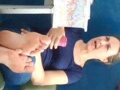 My teacher big soles #2