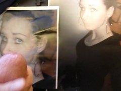 Cum tribute on 18 yo Amandas face pic from my 18 yo dick