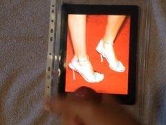 Cum Tribute for Jenna Haze Feet