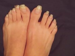 Toenails Long Nails NN- PEDICURE WITH DECORATION