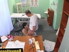 Real amateur patient cocksucking before oral