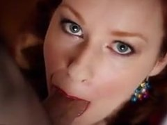 A Christmas Blowjob with a Lovely Milf.