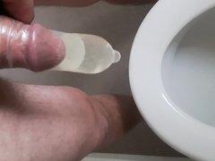 Condom piss play