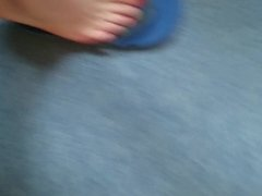 spit on my toes and feet - knabe988
