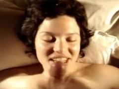 Cum in mouth-homemade