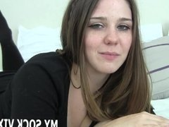 You need a handjob from a hot schoolgirl like me JOI