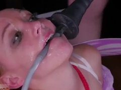 Gaping ass squirt bondage Sphincterbell
